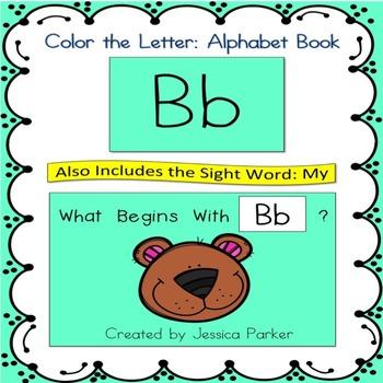 Alphabet Book for Letter B