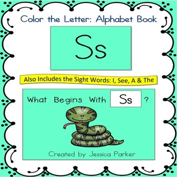 Alphabet Book for Letter S