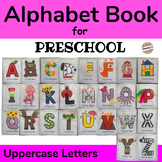Alphabet Book for Uppercase Letters, ABC Crafts