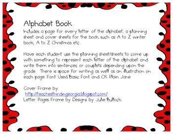 Alphabet Book for every season