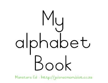 Alphabet Book-lowercase