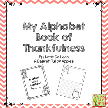 Alphabet Book of Thankfulness