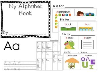 Alphabet Book w/Posters