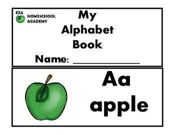 Alphabet Booklet