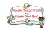 Alphabet Booklet Activity
