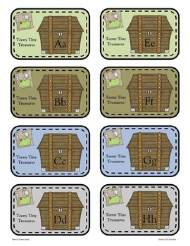 Alphabet Booklet - Teeny Tiny Treasures (Pirates)