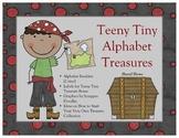Alphabet Booklet - Teeny Tiny Treasures (Pirates)