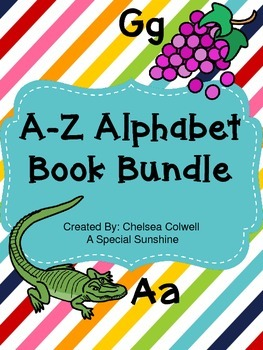 A-Z Alphabet Book Bundle