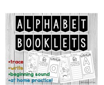 Alphabet Booklets