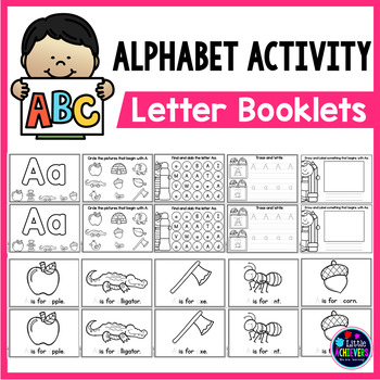 Alphabet Books - My ABC Booklets