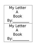 Alphabet Booklets A-Z