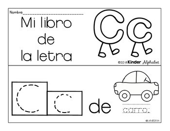 SPANISH BUNDLE Alphabet Booklets {predictable sentences}