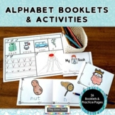 Alphabet Booklets and Practice Activities