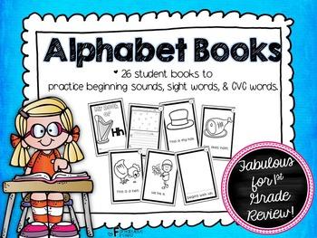 Alphabet Books for First Grade Review