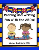 Reading and Writing Fun With the ABC's