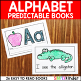 Alphabet Books (With Editable Sight Words)