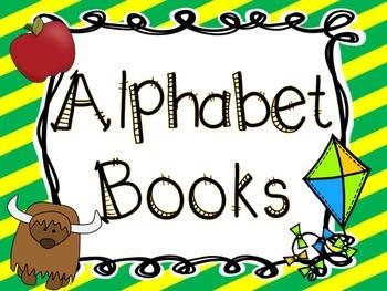 Alphabet Books- Back to School Edition