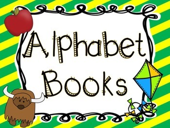 Alphabet Books- Back to School Edition