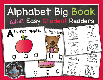 Alphabet Books {Big Book and Easy Readers}