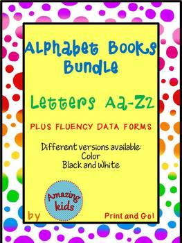 Alphabet Books Bundle – Letters Aa-Zz