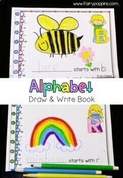 Alphabet Bundle - Drawing & Coloring Books