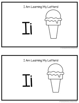 Alphabet Books: Letters F to K and Activities