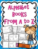 Alphabet Activity Books From A to Z! 186 Pages of Alphabet