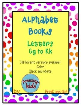 Alphabet Books Gg to Kk