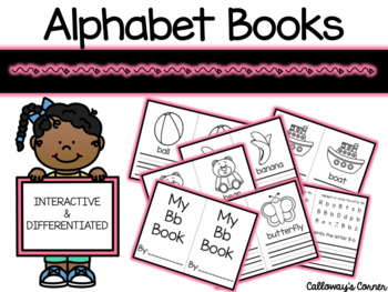 Alphabet Books- Interactive and Differentiated