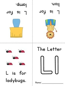 Alphabet Books ~ Just Print and Fold!