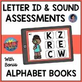 Alphabet Boom Cards: Letter Recognition and Sounds Assessm