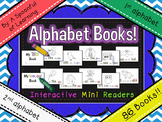 Alphabet Books (1st & 2nd Alphabet Interactive Mini Readers)