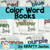 Color Word Books Printables #bfweekdeals