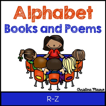Alphabet Books and Poems {R-Z}