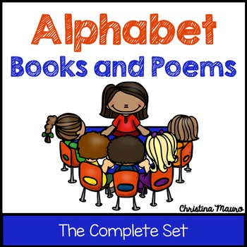 Alphabet Books and Poems {The Complete Set}