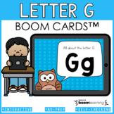 Alphabet Boom Cards - Letter G (Letter Recognition and Let