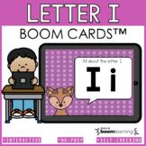 Alphabet Boom Cards - Letter I (Letter Recognition and Let