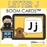 Alphabet Boom Cards - Letter J (Letter Recognition and Let