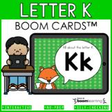 Alphabet Boom Cards - Letter K (Letter Recognition and Let