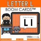 Alphabet Boom Cards - Letter L (Letter Recognition and Let