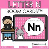 Alphabet Boom Cards - Letter N (Letter Recognition and Let