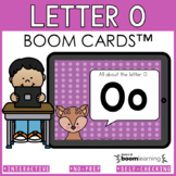 Alphabet Boom Cards - Letter O (Letter Recognition and Let