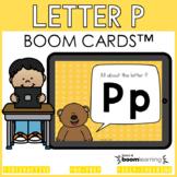 Alphabet Boom Cards - Letter P (Letter Recognition and Let