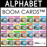 Alphabet Boom Cards BUNDLE (Letter Recognition and Letter