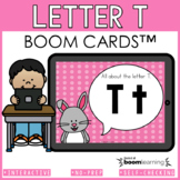 Alphabet Boom Cards - Letter T (Letter Recognition and Let