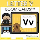 Alphabet Boom Cards - Letter V (Letter Recognition and Let