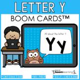 Alphabet Boom Cards - Letter Y (Letter Recognition and Let