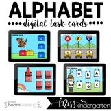 Alphabet Boom Cards™ for Distance Learning