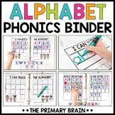 Alphabet Boost Binder   Phonics Activities for Reading Wor
