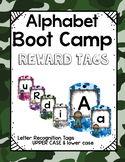 Alphabet Boot Camp Brag Tags! Rainbow Camouflage Style